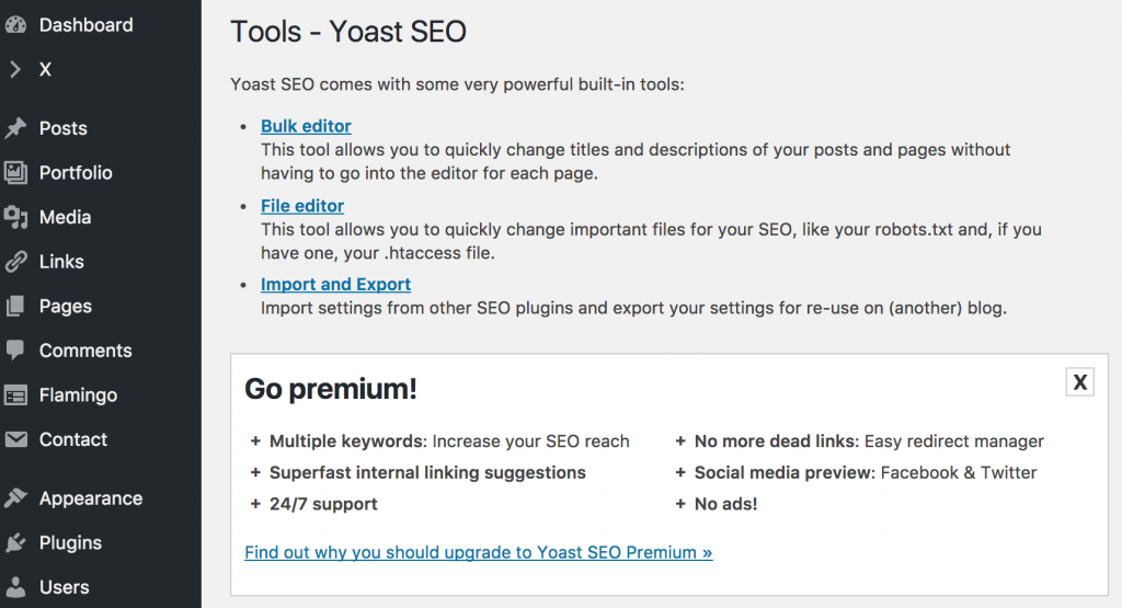 Yoast SEO Bulk Editor